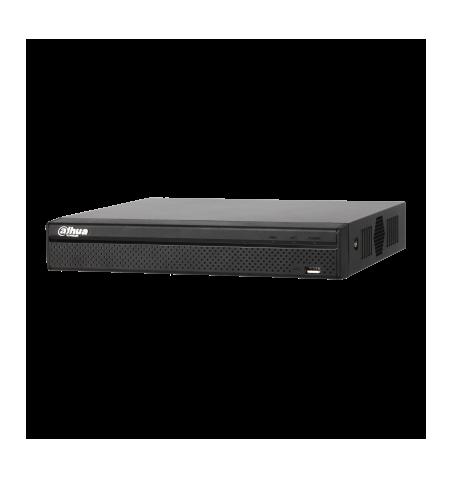 Enregistreur vidéo réseau compact à 4/8 canaux 1U 4PoE 4K et H.265-NVR4104HS-P-4KS2