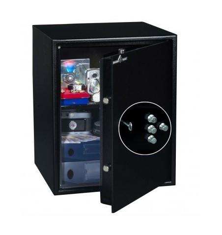 Coffre fort de sécurité HT 60 N2 Serrure à clés +  Combinaison 4 Tubes Compteurs 60L