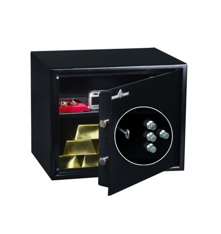 Coffre fort de sécurité HT 30 N2 Serrure à clés + Combinaison 4 Tubes Compteurs 32L