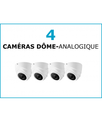 PACK 4/8 CAM DOME  ANALG