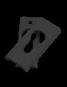 : Modèle:ENTREE FIX-INV 9MM CLE I NOIR