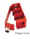 : Modèle:CRAVATE D'ECHELLE TRIANGLE DE 14MM