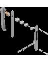 : Modèle:KIT FERMETURE DOUBLE RENOV AVEC CYLINDRE ALU RAL90