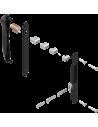 : Modèle:KIT FERMETURE DOUBLE RENOV AVEC CYLINDRE NOIR RAL900