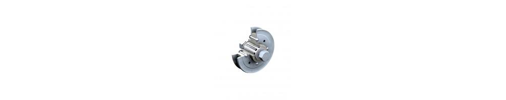 Catégorie Equipement portail & portillon - Double clés : MERMIER      Butoir de portail acier à sceller réglable , JARD...